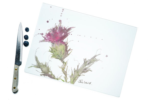 Thistle Only Glass Cutting Board