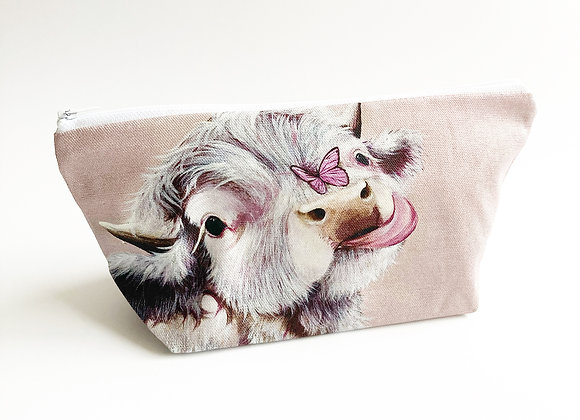 Fluttering By Cosmetic Bag
