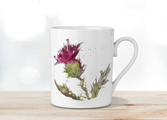 Thistle Only Fine Bone China Mug