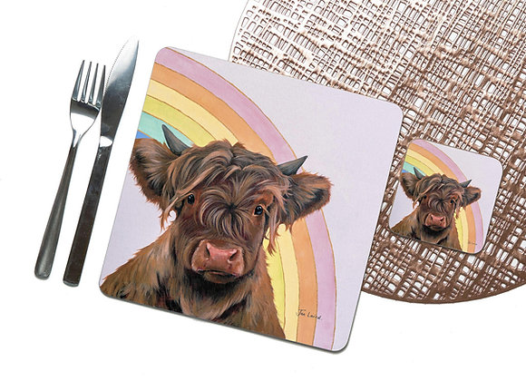 Mix & Match Coaster & Placemat Packs (Pack of 4)