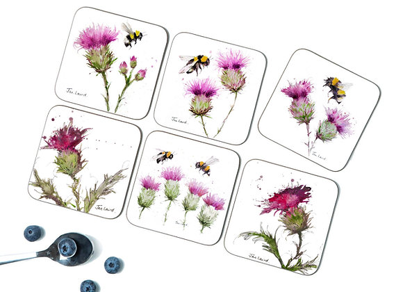 Busy Bee 6 Coasters/Placemats