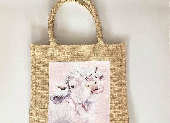 Fluttering By Shopper Bag