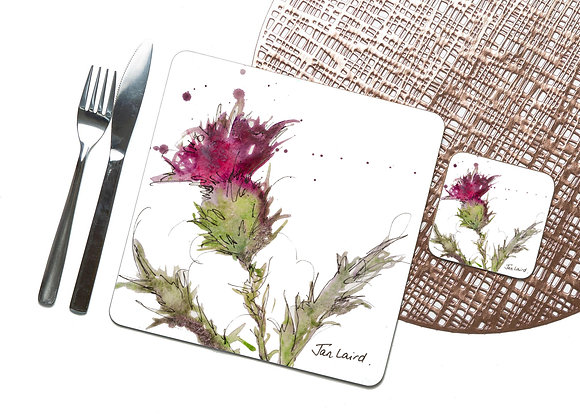 Thistle Only Coaster / Placemat