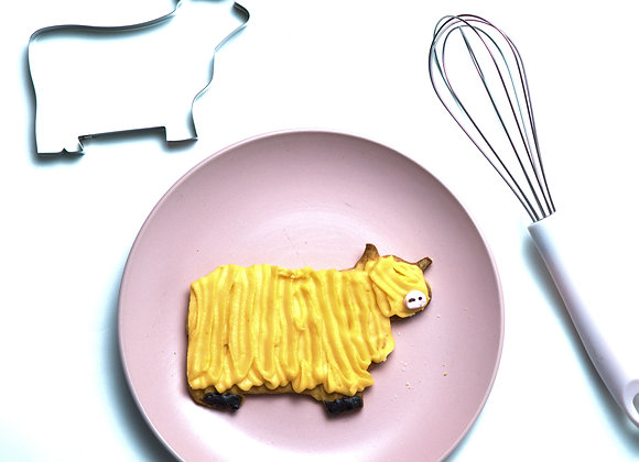 Highland Cow Cookie Cutter