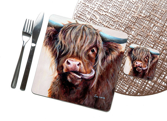 Molly Moo Coaster / Placemat