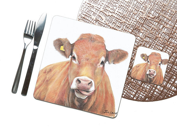 Limousin Coaster / Placemat