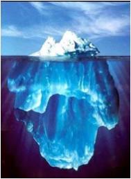 Het topje van de ijsberg..
