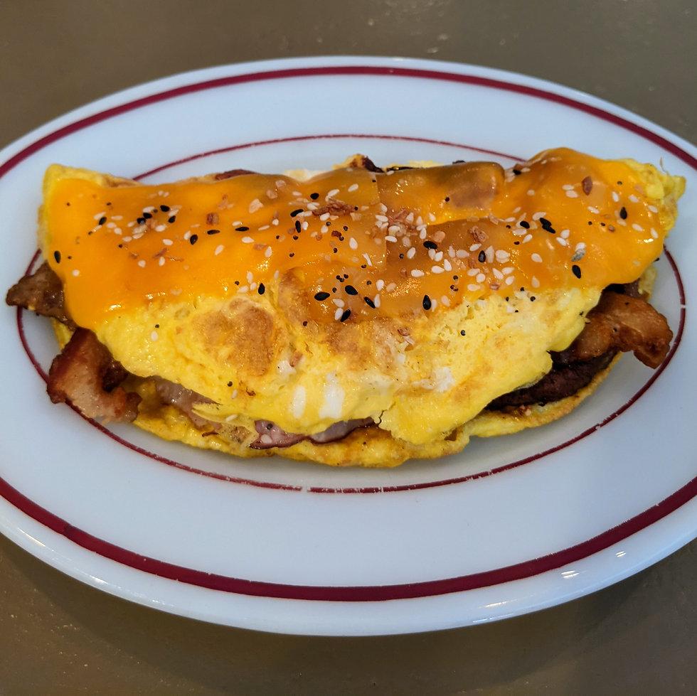 Belly Buster Omelette