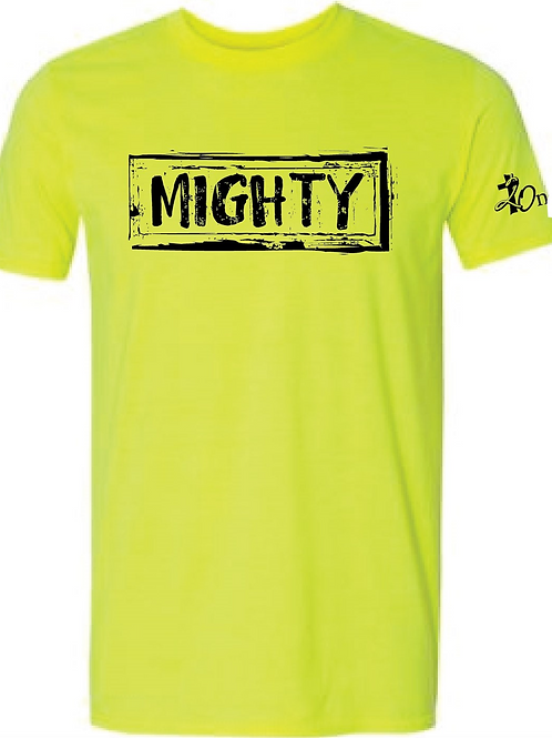 """""""Mighty"""" Official Tee - Neon"""