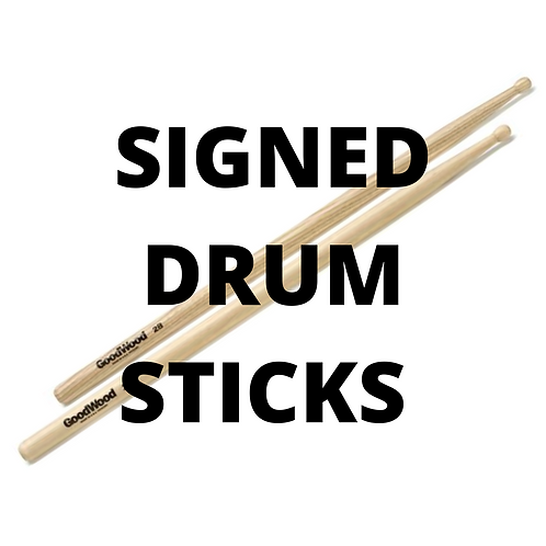 Drum Sticks - Signed Copy