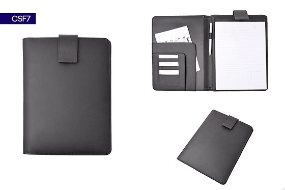 CSF7 -- Magnetic Clip Leather Folder