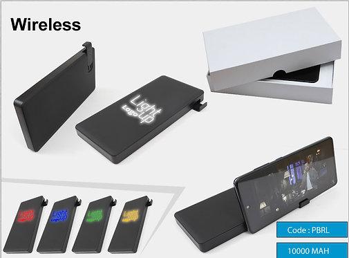 PBR-L -- Lighted Wireless Power Bank 10000(MAH)