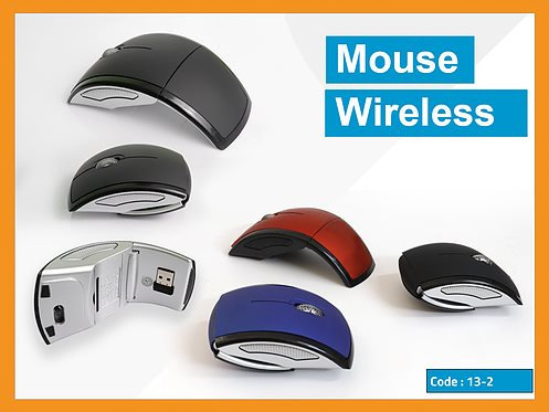 13-2 MOUSE  -- Foldable Wireless Mouse