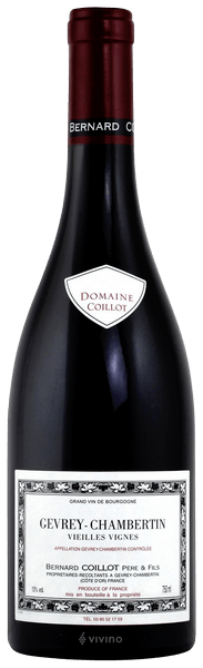 2016 Gevrey Chambertin Vieilles Vignes Domaine Coillot, Burgundy, France, 75cl