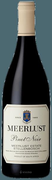2017 Pinot Noir Meerlust Stellenbosch, South Africa, 75cl