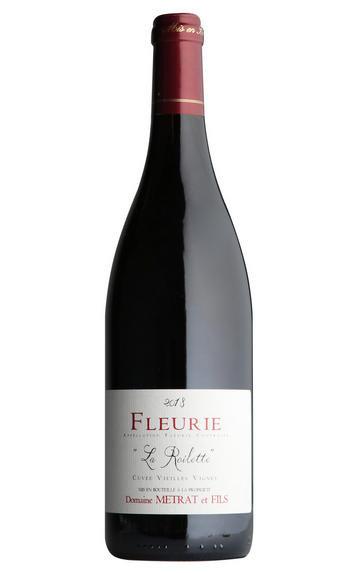 2018 Fleurie La Roilette Vieilles Vignes Bernard Metrat, Beaujolais, France, 75c