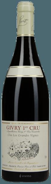 2017 Givry 1er Cru Clos les Grandes Vignes, Burgundy, France, 75cl