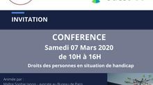 Conférence sur la défense des droits des personnes autistes