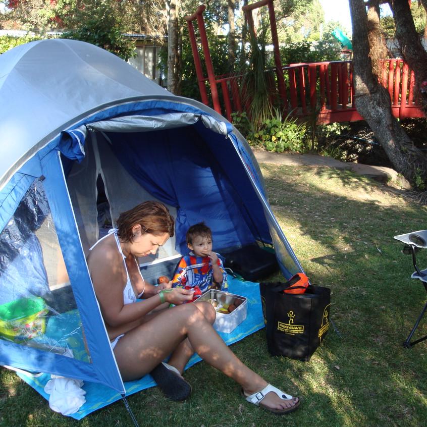 ilk çadırımız