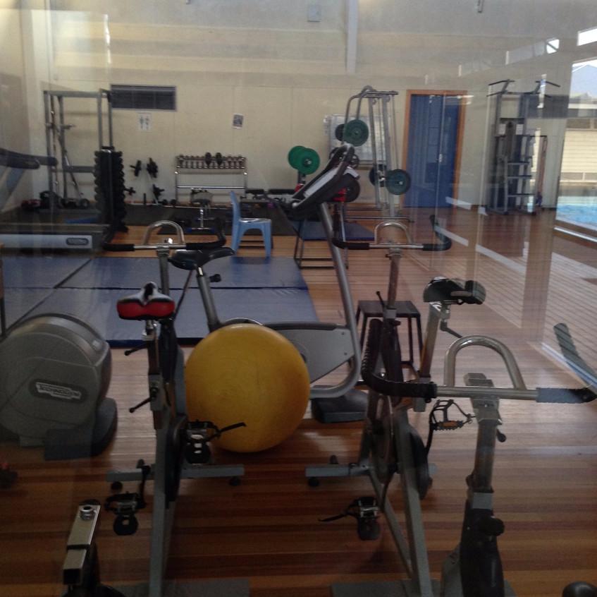 Lisenin gym aletlerinin bir kısmı