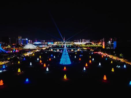Brasília Iluminada é sinônimo de esperança para os brasilienses