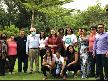 Bia Kicis visita a Fazenda da Esperança Feminina em Brazlândia