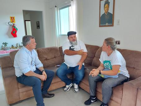 A convite do Barba, André Clemente visita a Fazenda da Esperança Feminina