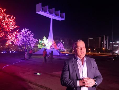 André Clemente: Natal Iluminado de Brasília resgatou a força e a esperança do brasiliense