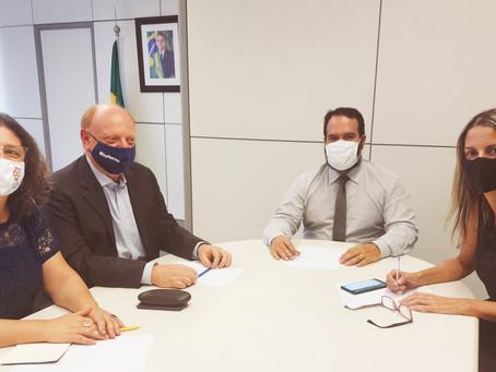 Presidentes do IPH e da FEBRACT se reúnem com auxiliares do governo Bolsonaro
