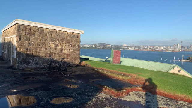 Devonport. Reason to visit: The start of winter, cycle to the top of North Head.