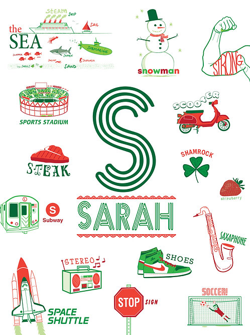 S is for...