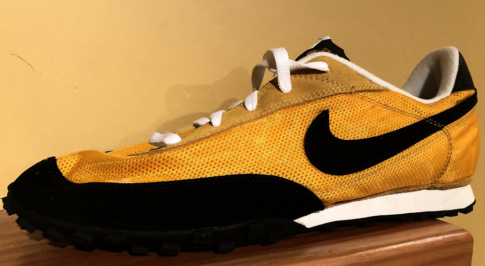 Custom Yellow Oregon Waffles that were made for a nationally ranked Junior Olympic Team.