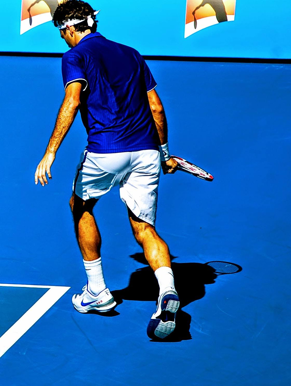 Roger Federer at the 2009 Australian Open