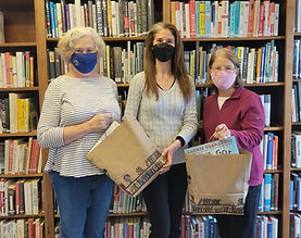 Library Photos Willett Free Library. Sandy Coletta; Jennifer Shaker,  Library Director;  S