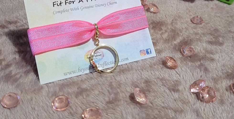 Fit For A Princess Bracelet; Pink Crown