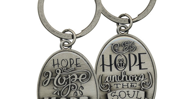 Keyring; Hope anchors the soul
