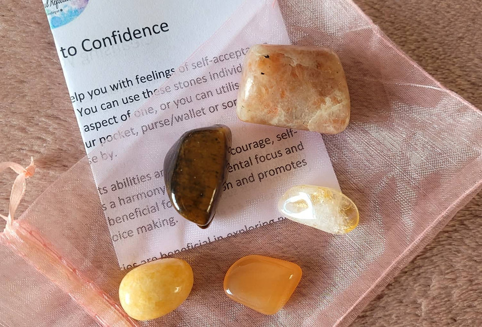 Healing Crystal Pack; Confidence