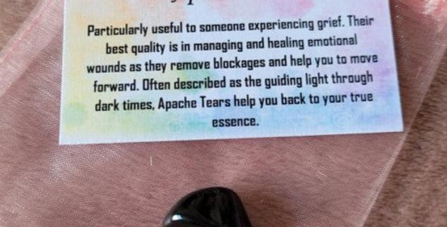 Healing Crystal; Apache Tears