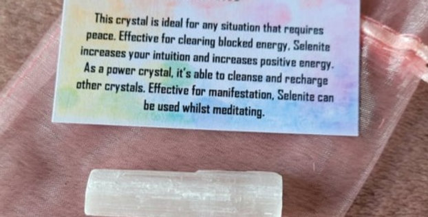 Healing Crystal; Selenite