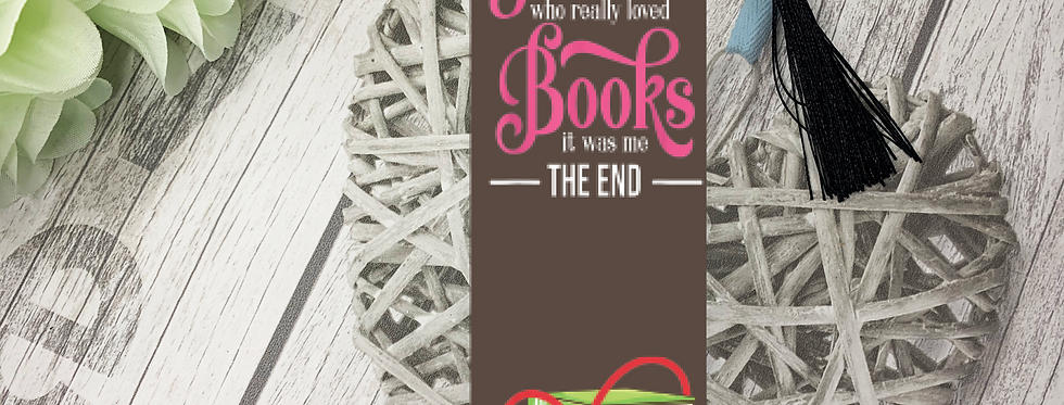 Bookmark; Once Upon A Time There Was A Girl..