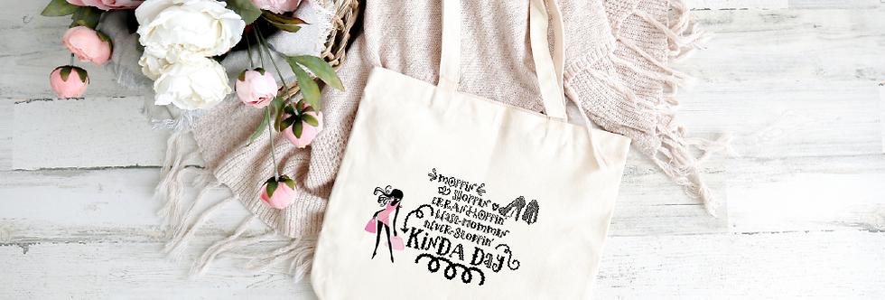 Tote Bag;  Moppin' shoppin' kinda day