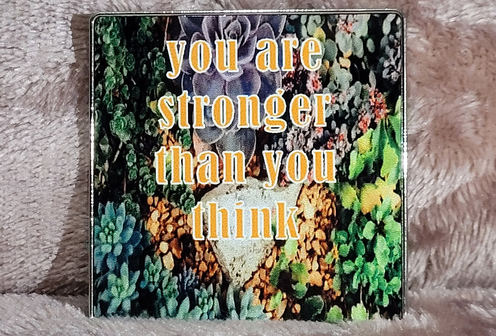 Motivational Magnet; You Are Stronger Than You Think