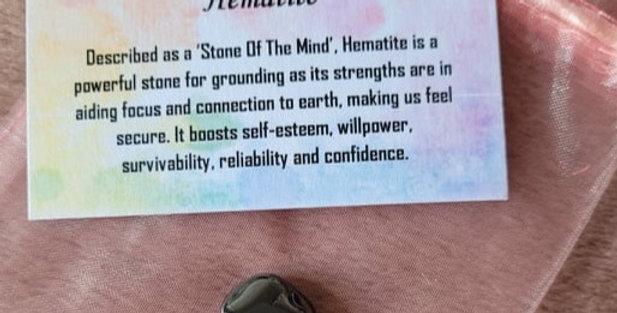 Healing Crystal; Hematite
