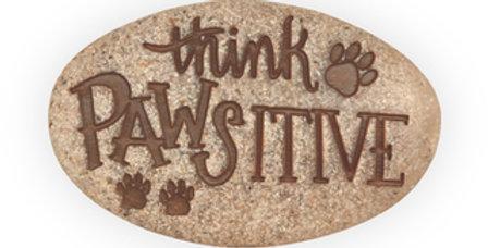 Pocket Stone; Think Pawsitive