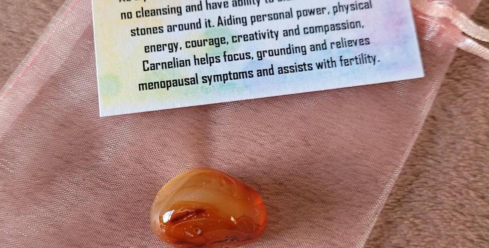 Healing Crystal; Carnelian