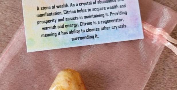Healing Crystal; Citrine