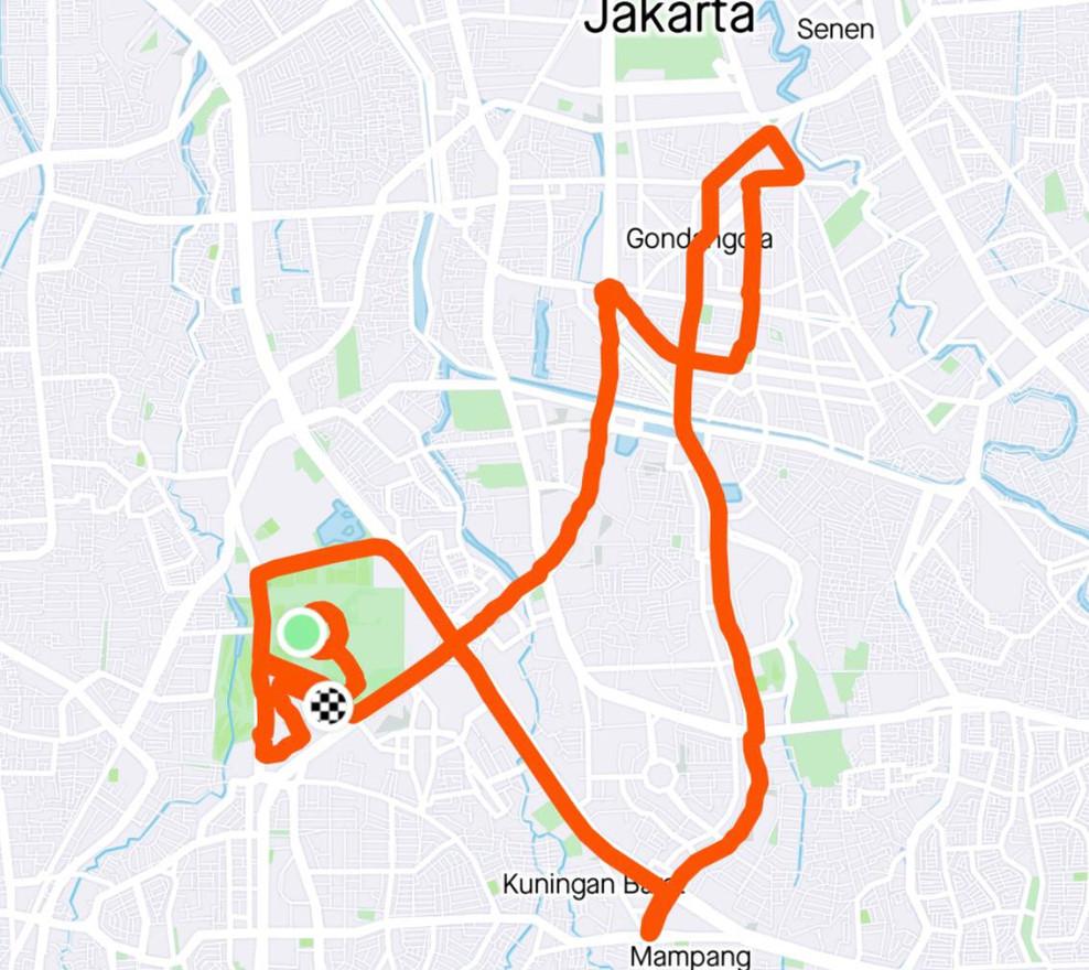 Pace & Distance Akurat