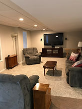 Basement Remodel in Central New Jersey