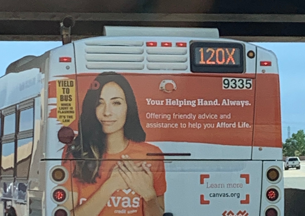 Bus Back Ad