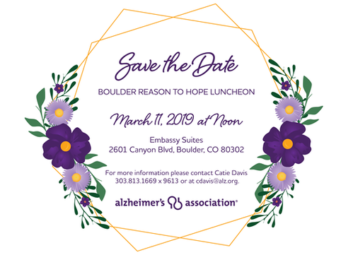 Formal Event Save the Date